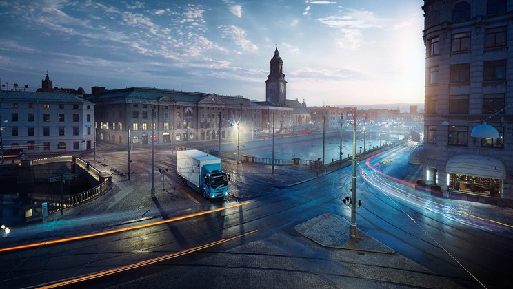Volvo Trucks представляет Volvo FE Electric
