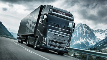 Volvo FH16 с I-Shift Dual Clutch на пътя