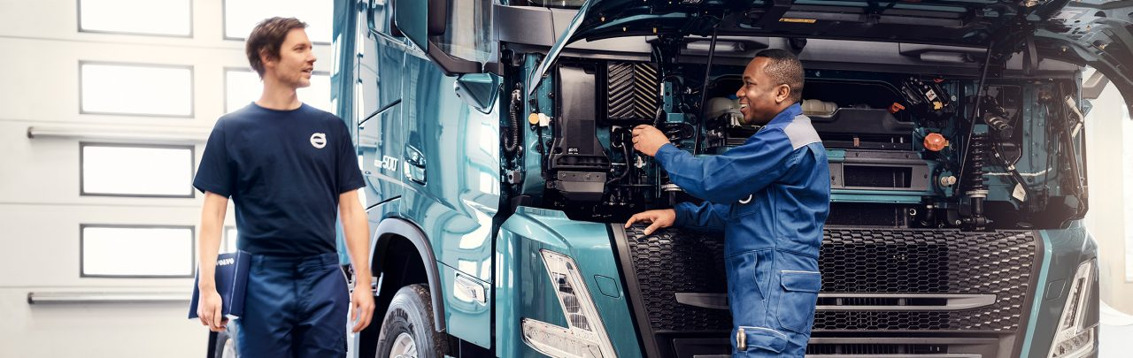 Volvo Trucks – оферта за основен ремонт на двигателя